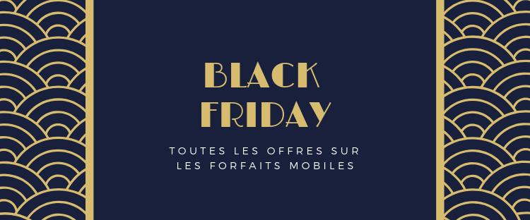 Black Friday toutes les offres mobile