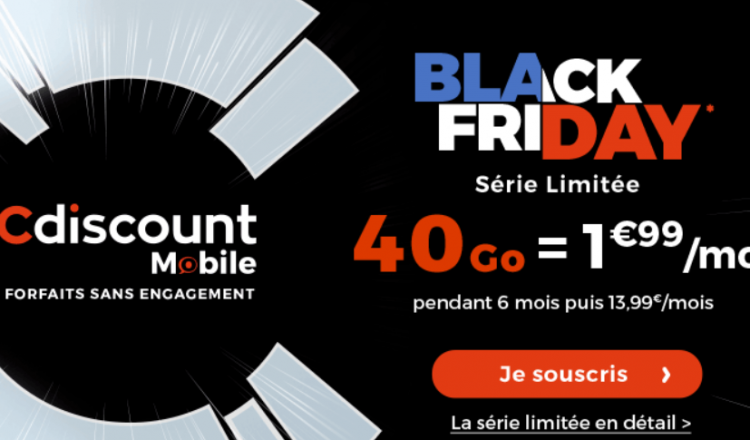 cdiscount mobile black friday