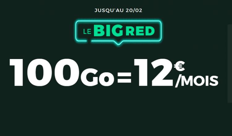 red by sfr 100o